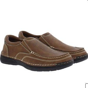 IZOD Men's Memory Foam Loafers Slip-on Shoes